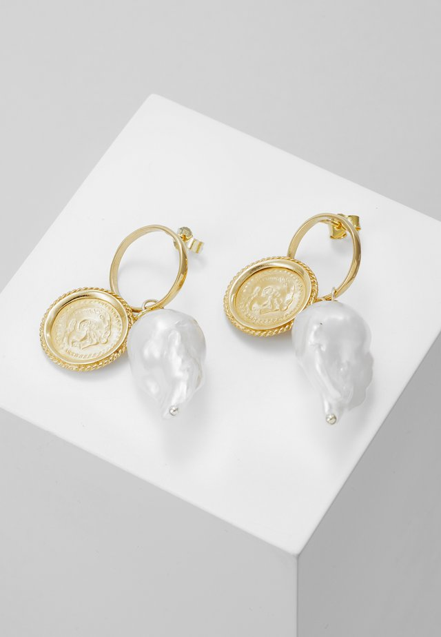 HERCULES LOST SEA BAND EARRINGS - Earrings - gold-coloured