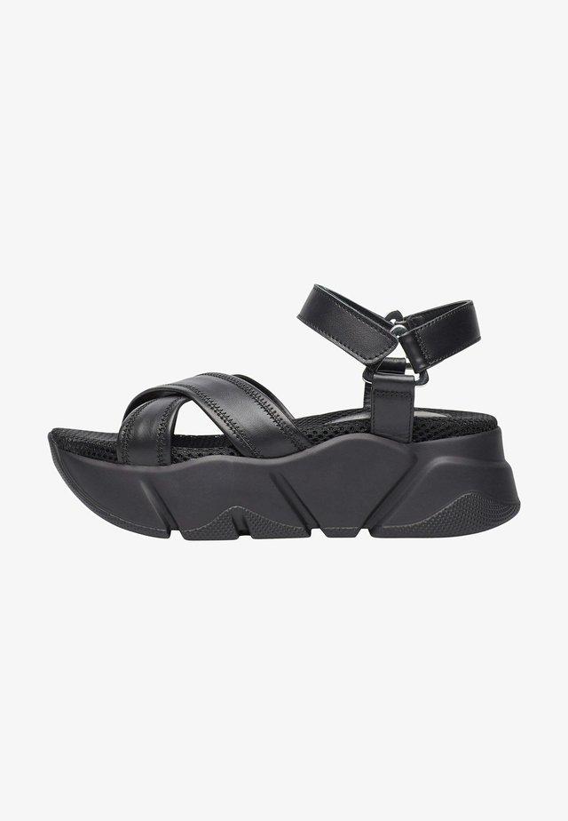MORENA - Sandales à plateforme - schwarz