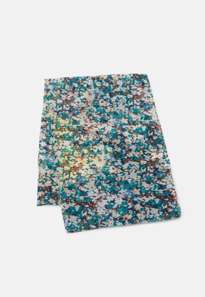 Codello - FLOWER CAMOUFLAGE - Tubhalsduk - jeans blue