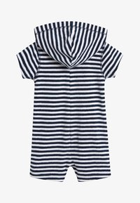 Next - NAVY STRIPE TOWELLING ALL-IN-ONE (3MTHS-7YRS) - Overal - blue - 1