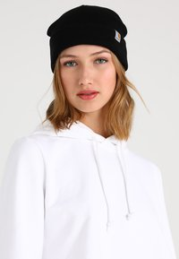 Carhartt WIP - STRATUS HAT LOW - Gorro - black - 4