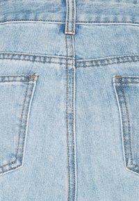 Lost Ink Petite - STRAIGHT PIPE LEG RIP - Straight leg jeans - mid denim - 2
