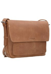 Harold's - IVY KURIER LAPTOPFACH - Across body bag - natur - 1