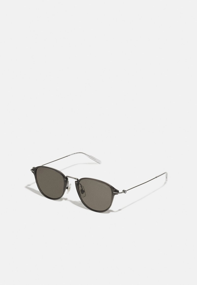 Mont Blanc - UNISEX - Sunglasses - ruthenium/grey