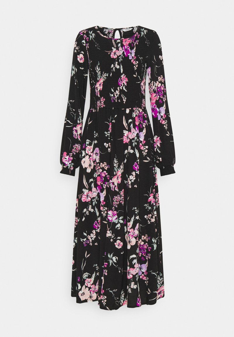 b.young - BYILKA SMOCK DRESS - Day dress - black mix