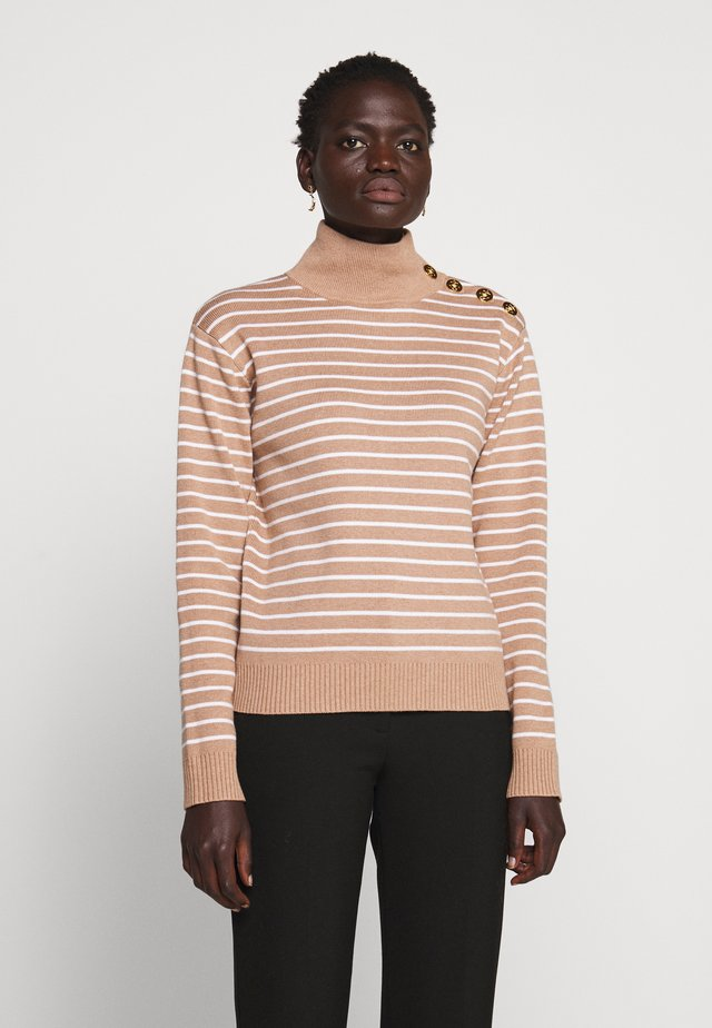 LAYIA - Strickpullover - tannin