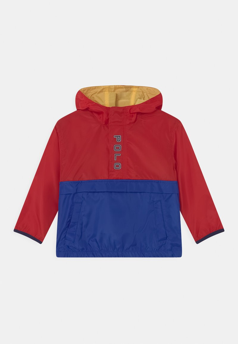 Polo Ralph Lauren - OUTERWEAR - Vodotěsná bunda - red/sapphire star