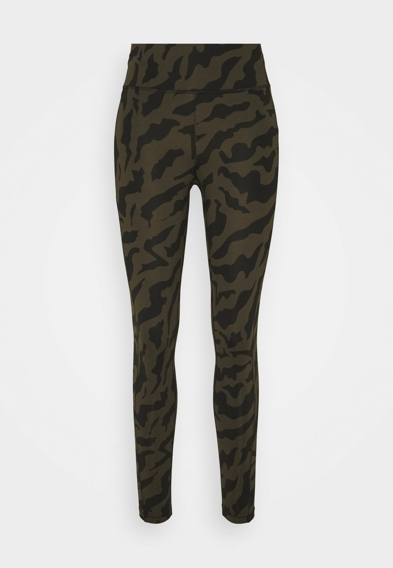 Casall - ICONIC PRINTED 7/8 - Tights - escape green