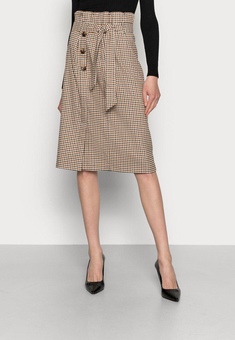 Love Copenhagen - ULLA SKIRT - A-line skirt - brown