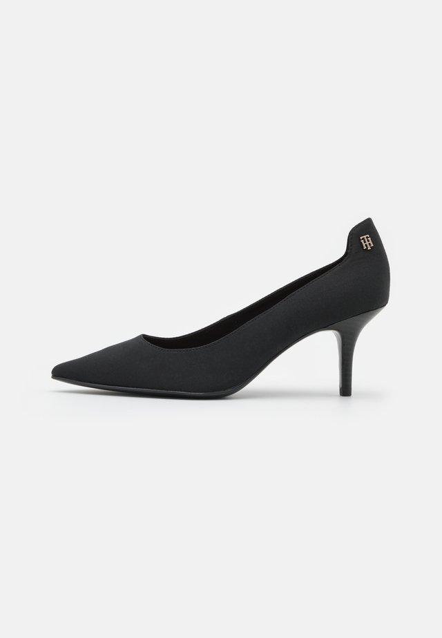 ESSENTIAL MID HEEL - Klassieke pumps - black