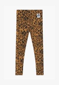 Mini Rodini - BASIC LEOPARD - Leggings - Trousers - beige - 0