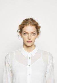 Bruuns Bazaar - KATHIS GANA DRESS - Shirt dress - snow white - 3