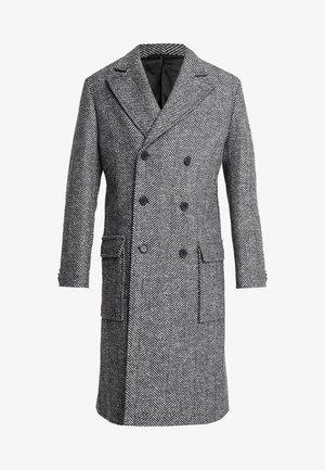 EXCLUSIVE HERRINGBONE CROMBY - Classic coat - grey