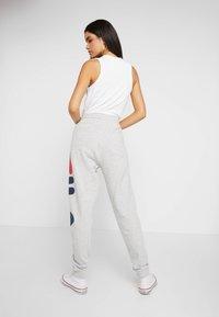 Fila Tall - PURE PANTS - Tracksuit bottoms - light grey melange - 2