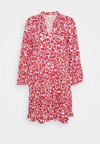 JDY - JDYCHAR DRESS - Day dress - cloud dancer/red - 0