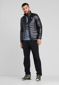 adidas Performance - VARILITE DOWN JACKET - Winter jacket - black - 1