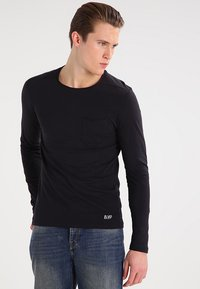 Blend - Long sleeved top - black - 0