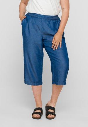Trousers - medium blue denim