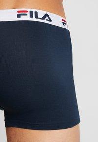 Fila - 3 PACK TRUNK - Underkläder - white/navy - 2