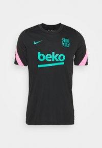 FC BARCELONA - Club wear - black/pink beam/new green