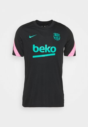 FC BARCELONA - Article de supporter - black/pink beam/new green