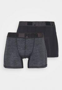 Puma - ACTIVE GRIZZLY BOXER 2 PACK - Pants - black - 3