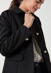 Next - PUFF SHOULDER - Short coat - black - 2