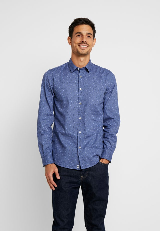 Shirt - medium blue