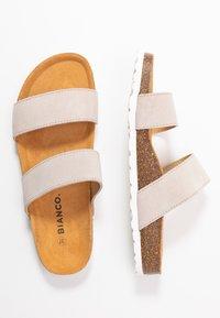 Bianco - BIABETRICIA TWIN STRAP - Slippers - beige - 3