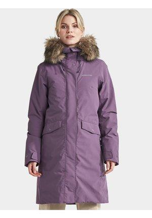 ERIKA - Winter coat - eggplant