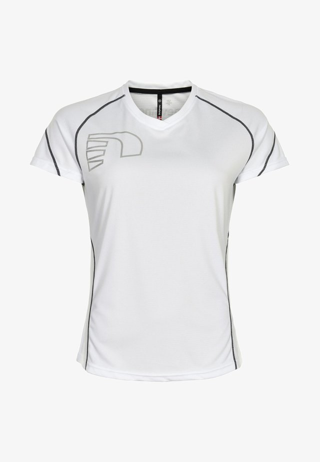 CORE COOLSKIN TEE - Sports shirt - white