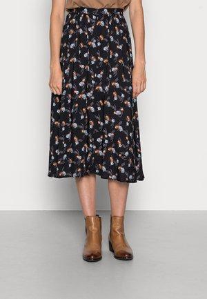 BOLETUS - A-line skirt - black