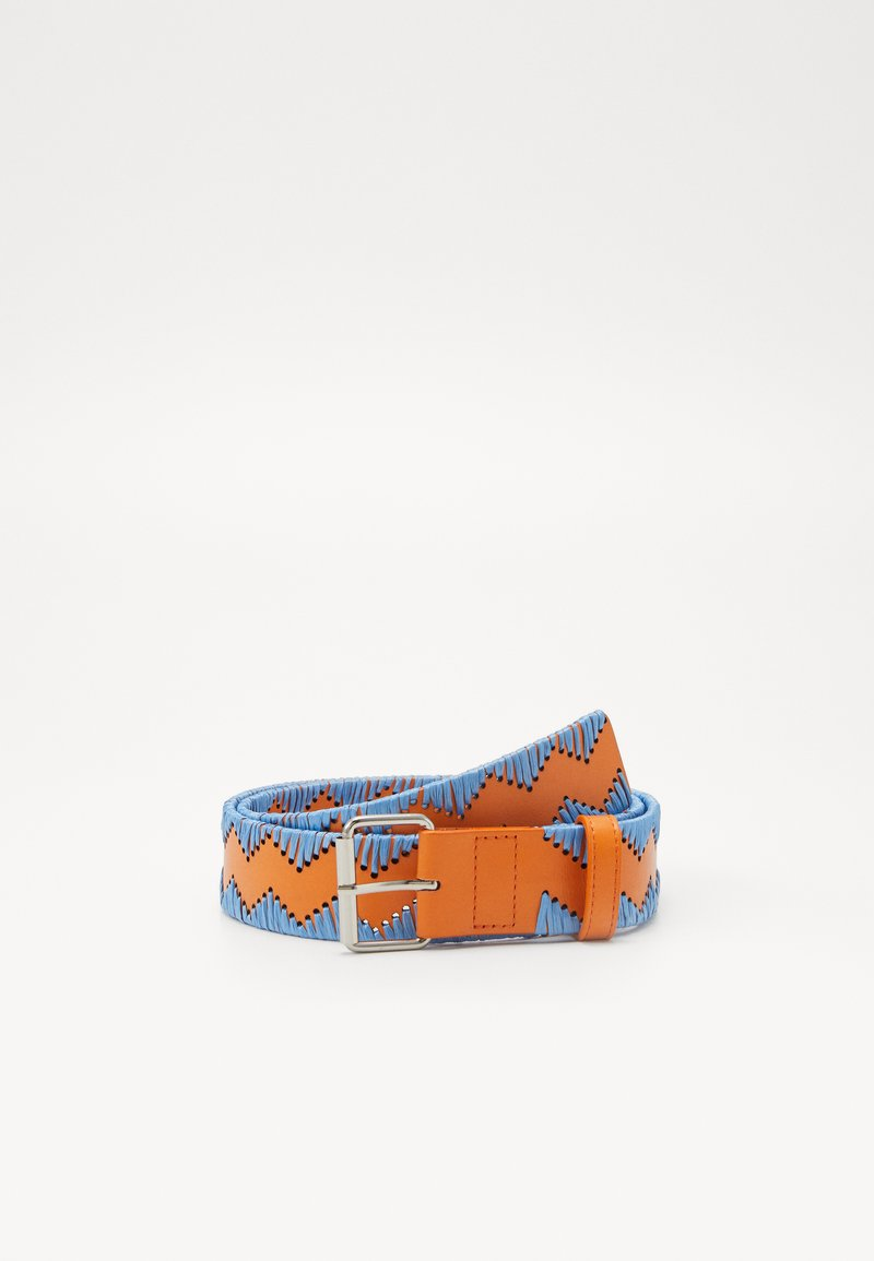 M Missoni - CINTURA - Bælter - light blue/orange