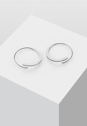 KREIS - Earrings - silver-coloured