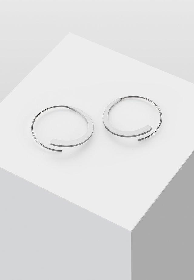 KREIS - Oorbellen - silver-coloured