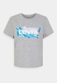 Levi's® - GRAPHIC JORDIE TEE - Print T-shirt - heather grey - 3