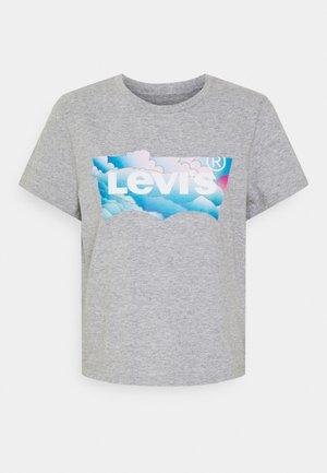 GRAPHIC JORDIE TEE - T-shirts med print - heather grey