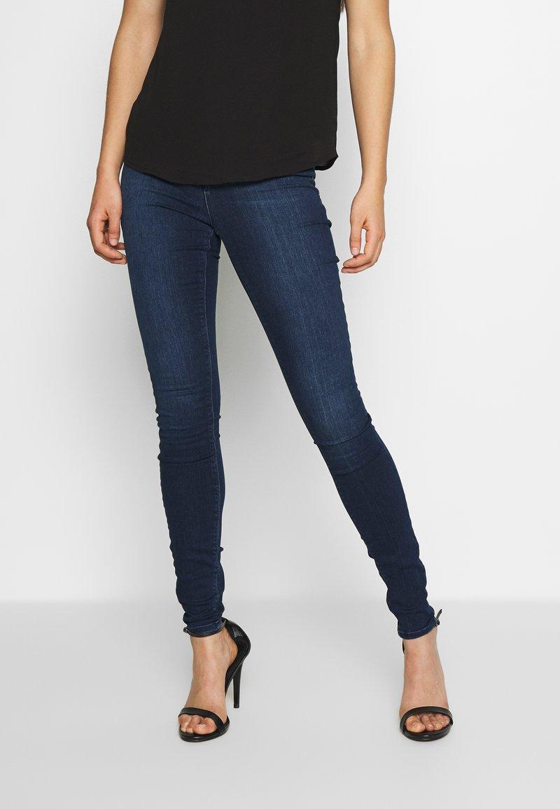 ONLY - ONLIDA - Jeans Skinny Fit - dark blue denim