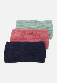Even&Odd - 3 PACK - Nauszniki - pink/mint/dark blue - 1