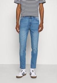 Newport Bay Sailing Club - SLIM LEG - Slim fit jeans - light wash - 0