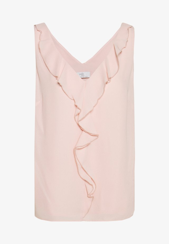 RUFFLE - Blouse - blush