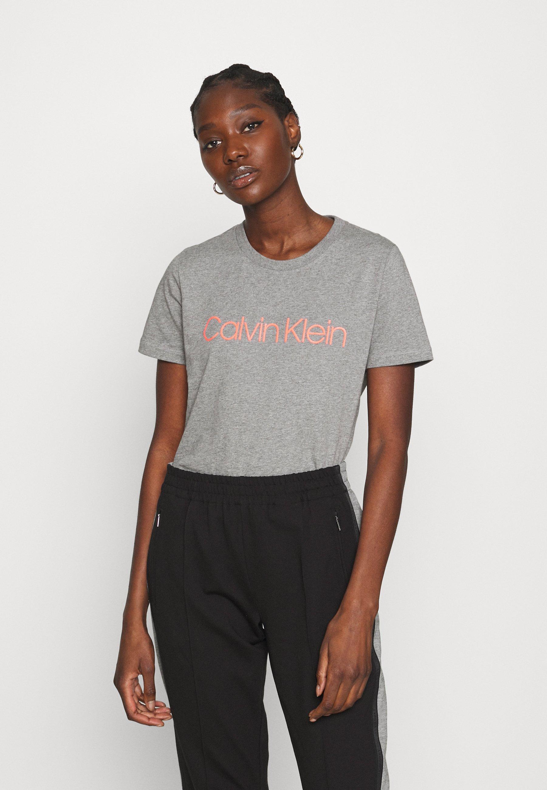 Femme CORE LOGO CREW TEE - T-shirt imprimé