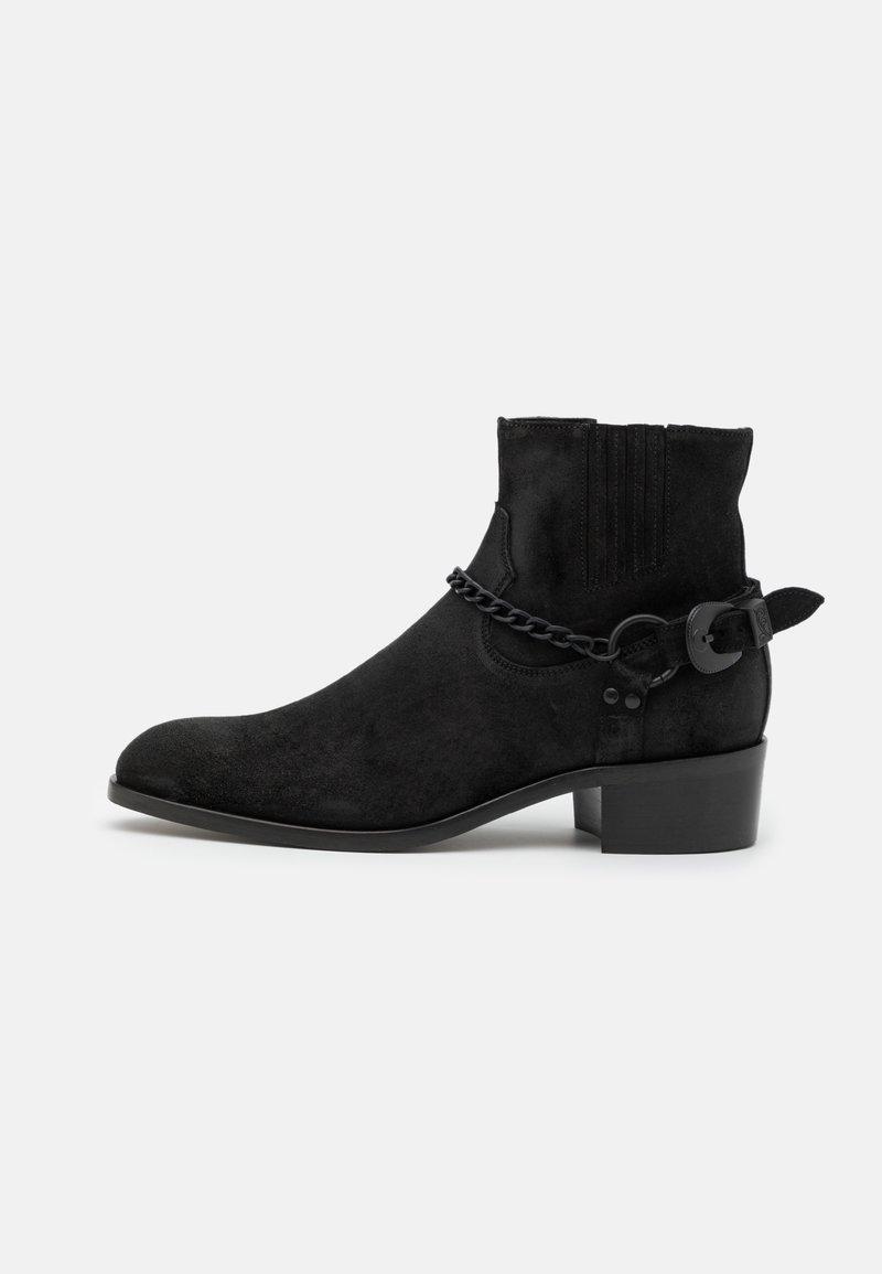 ALDO - SORICK - Cowboy/biker ankle boot - black