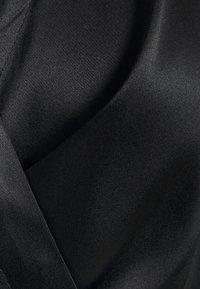 Sand Copenhagen - WRAP BLOUSE - Blouse - black - 6