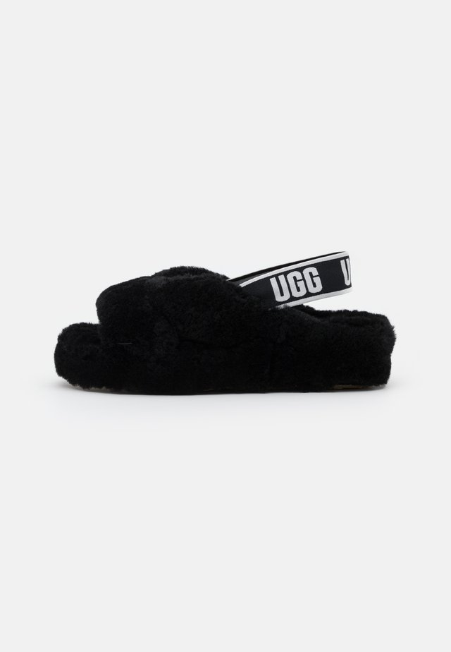 FAB YEAH - Chaussons - black