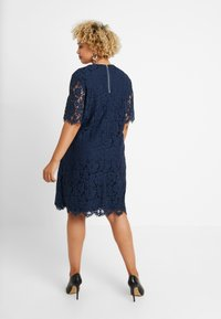 Glamorous Curve - SHIFT DRESS - Cocktail dress / Party dress - navy - 3