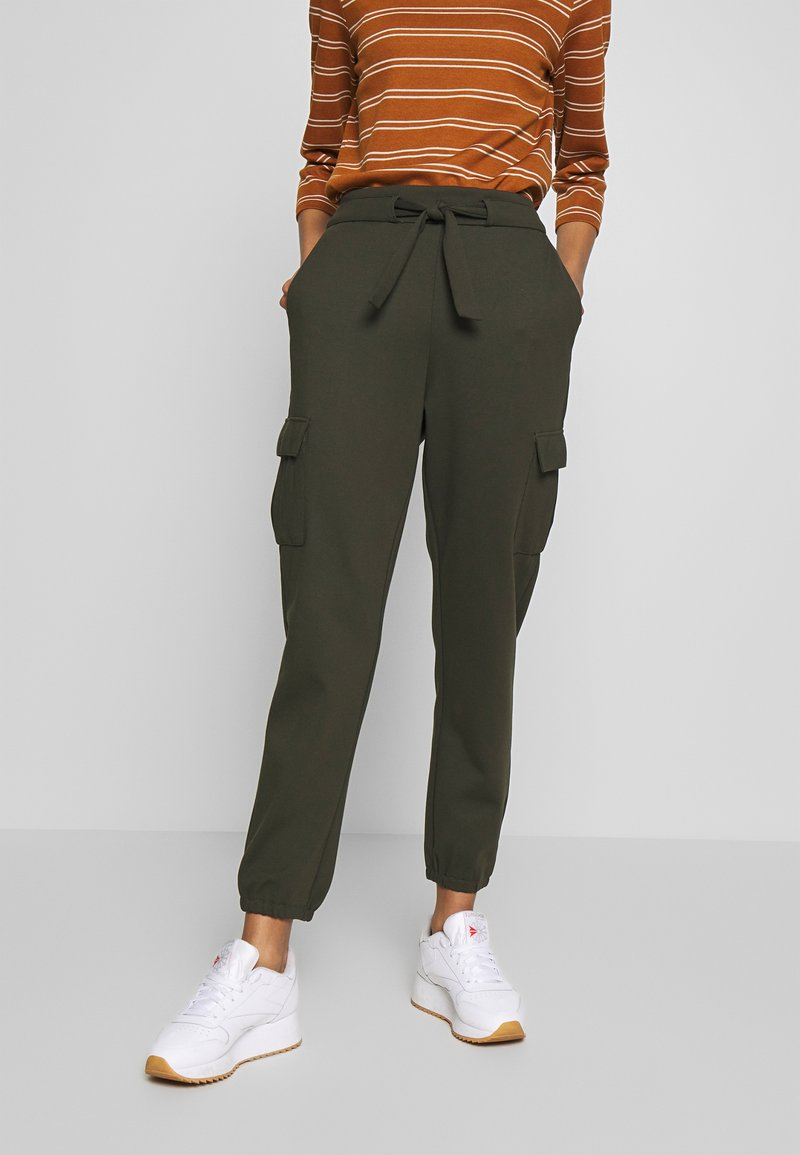 ONLY - ONLPOPTRASH  - Cargo trousers - forest night