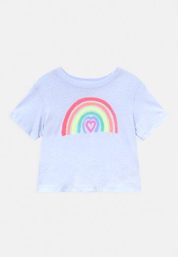 GIRLS BOXY - T-shirt con stampa - sunrise blue