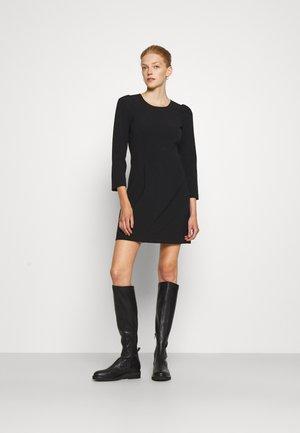 DRESS - Shift dress - nero