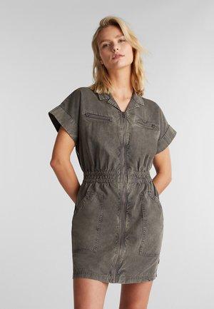 Denim dress - grey